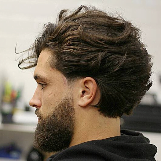 Long Hairstyle For Men Beard – Get That Flow