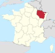 mapa lotrinsko