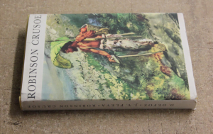 kniha robinson crusoe