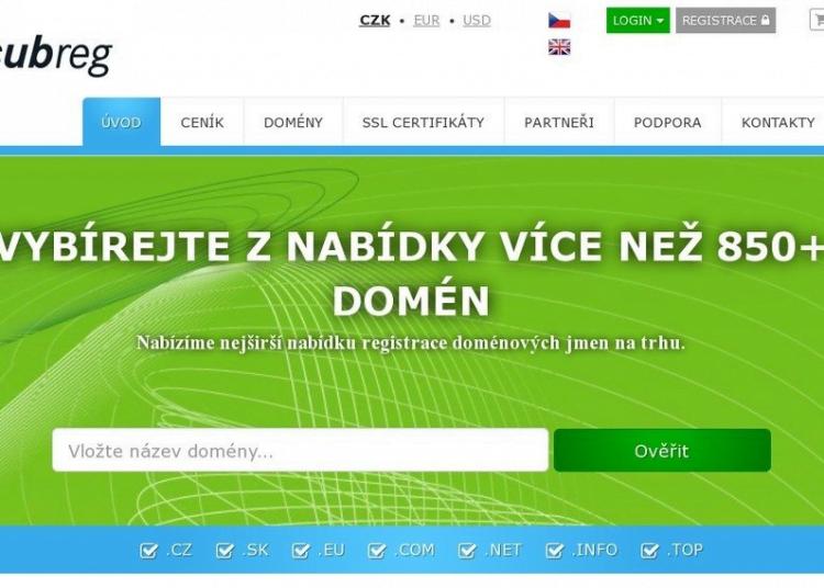 subreg cz