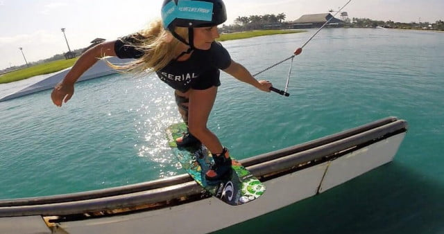 wakeboarding slide