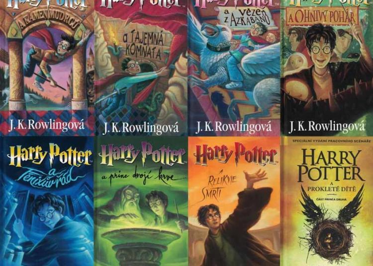 Harry potter knižky