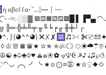 symboly