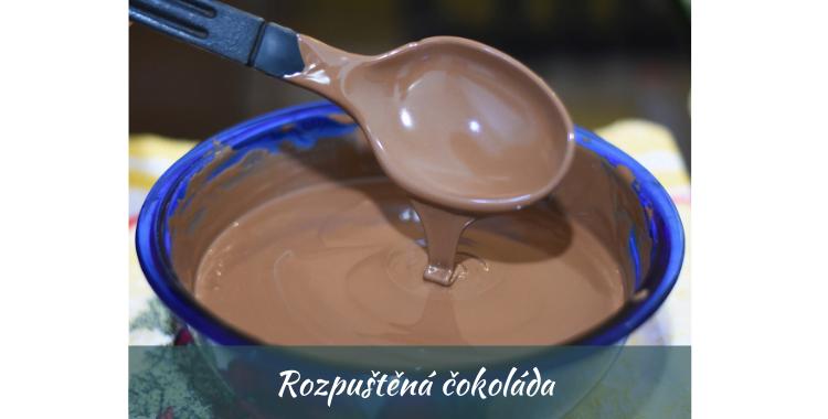 Rozpuštěná čokoláda