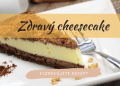 Zdravý fitness cheesecake
