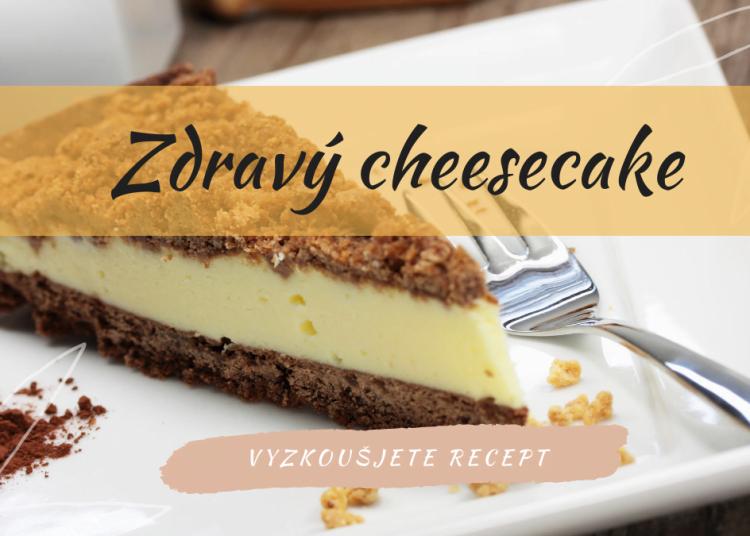 Zdravý fitness cheesecake