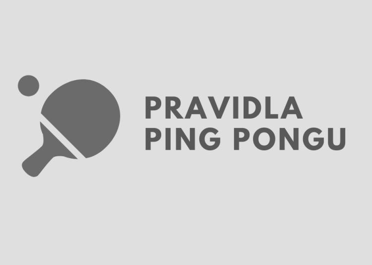 Pravidla ping pongu