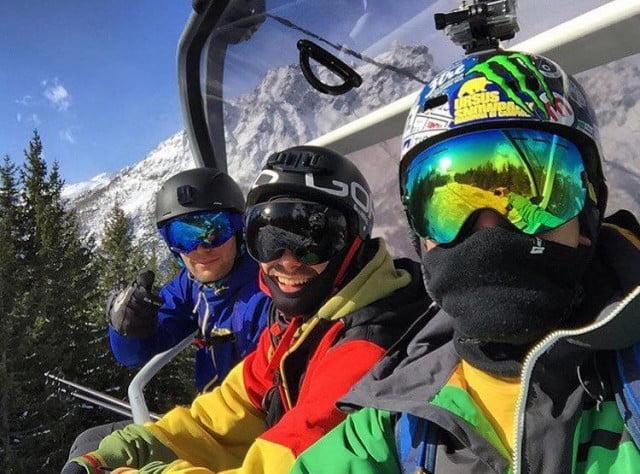 Zimní brýle na lyže