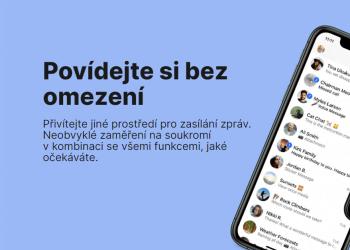 signal chat aplikace mobil