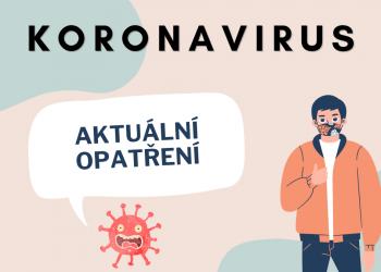 Aktuální opatření koronavirus