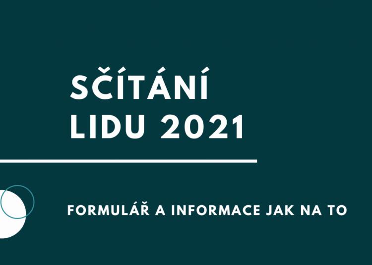 Sčítání lidu 2021 informace