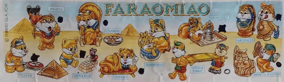 Faraomiao kočky