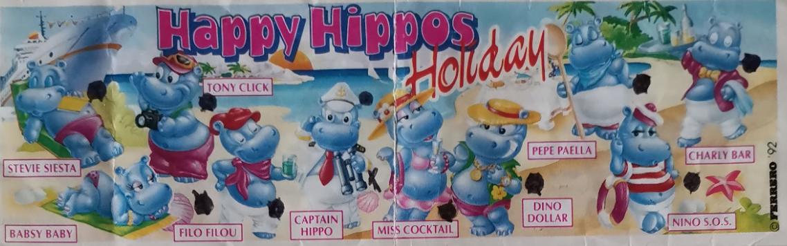 Happy Hippo Holiday hroši