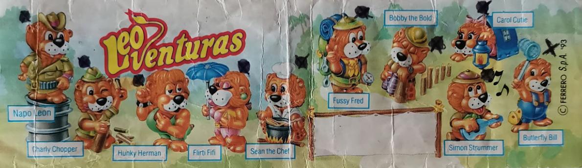 Kinder LeoVenturas lvíčci