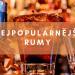Nejpopulárnější rumy