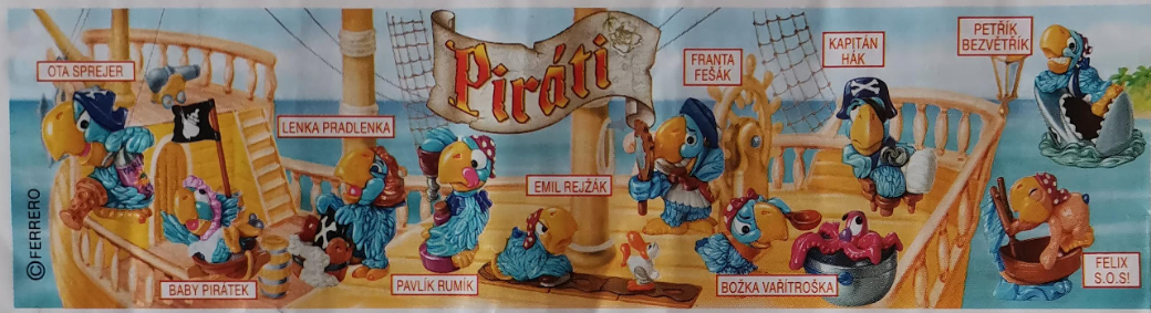Piráti papušci
