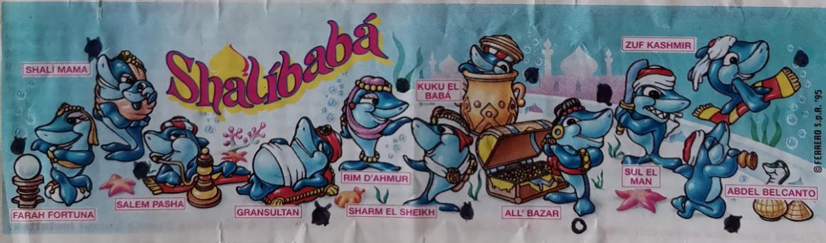 Žraloci Shalíbabá (Squalibaba)