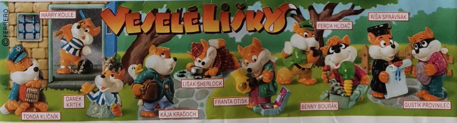 Veselé lišky