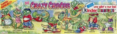 kinder krokodýli