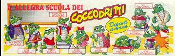 Kinder crazy crocos