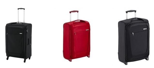 Samsonite cestovní kufry
