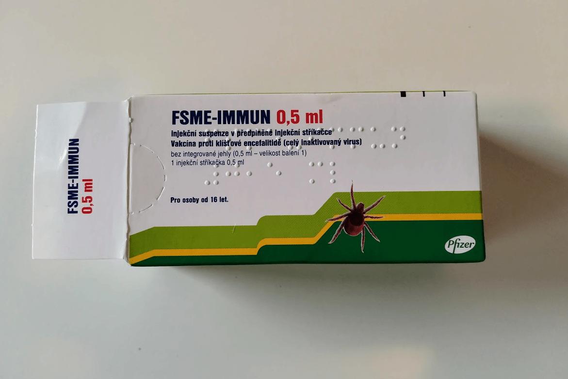 FSME-IMMUN 0,5ml proti klíštové encefalitidě