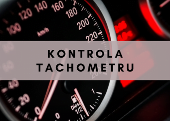 Kontrola tachometru