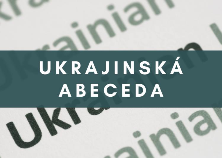 Ukrajinská abeceda