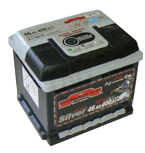 Baterie 12V 46Ah 400A SZNAJDER SILVER