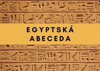 Egyptská abeceda