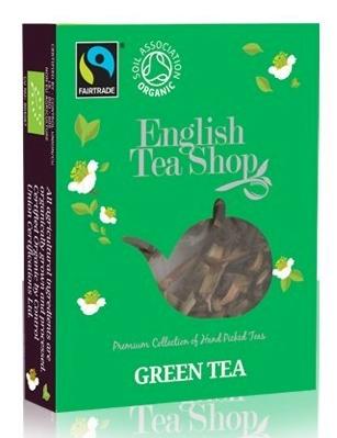 bio a fairtrade zelený čaj