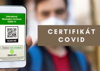 Certifikát očkování covid