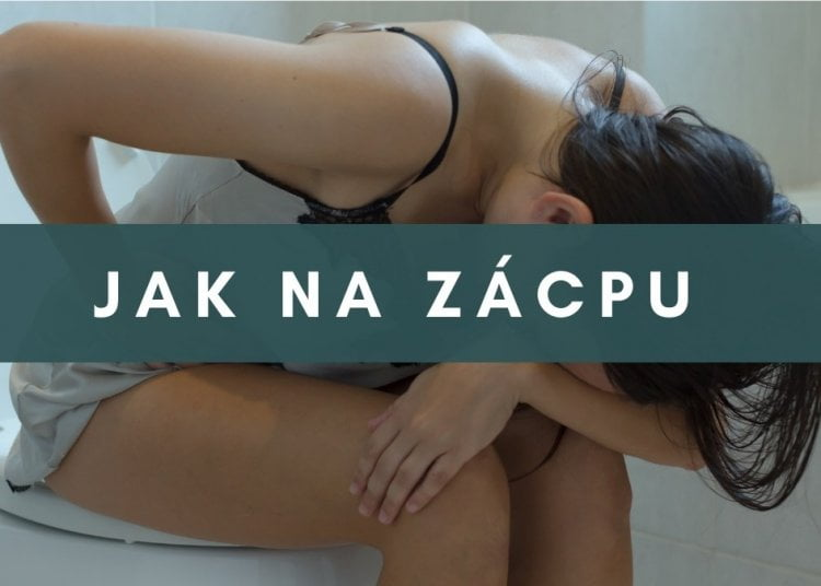 Jak na zácpu - bolest bricha