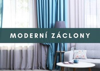 Moderní záclony