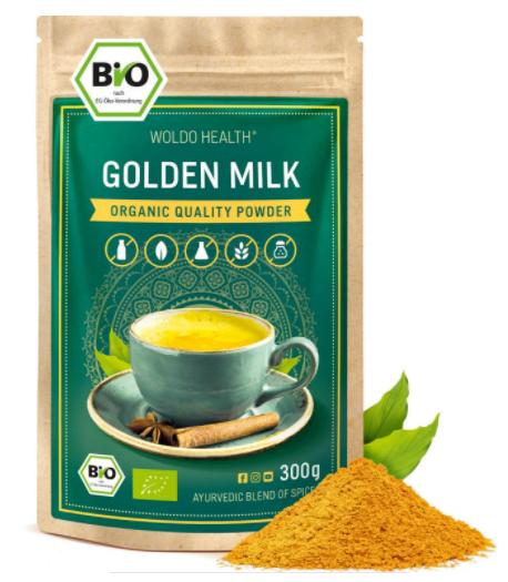 Zlaté mléko kurkuma
