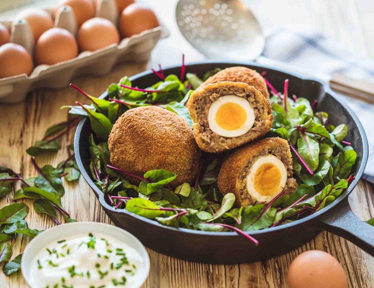 pstrosi vejce