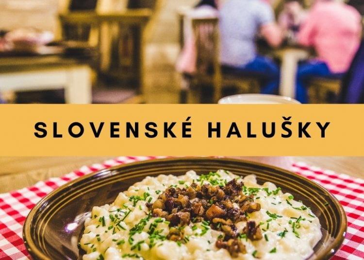 slovenské halušky