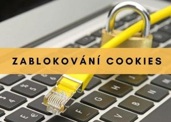 zablokování cookies