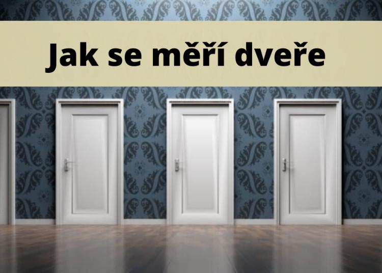 Jak se meri dvere