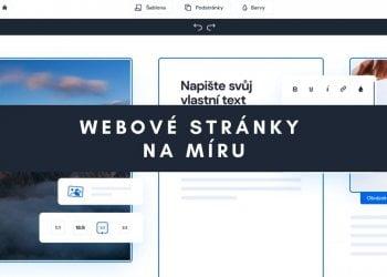 Webové stránky na míru