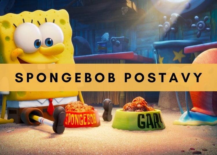 SpongeBob postavy