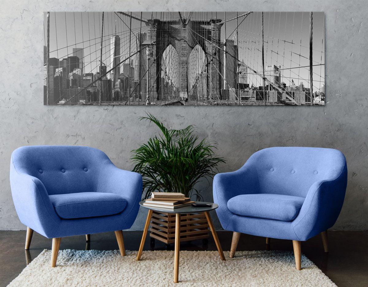 cernobily obraz skvele doplni moderni interier