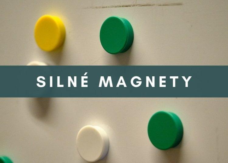 Silné magnety