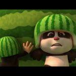 Krtek a Panda - Velký meloun - 11. díl